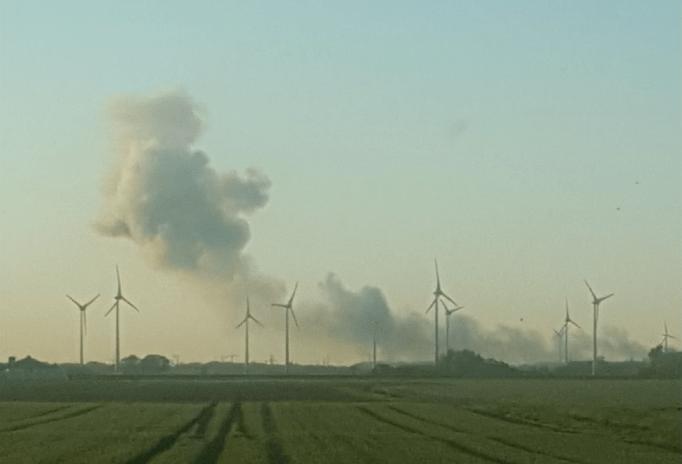 Foto van blazer/stofpluim in Groningen